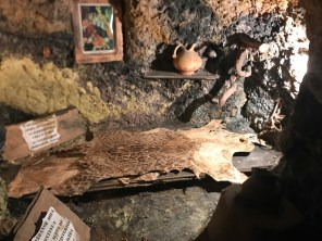 monastary cave bedroom