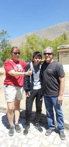 kotosh met a cool kid.JPG