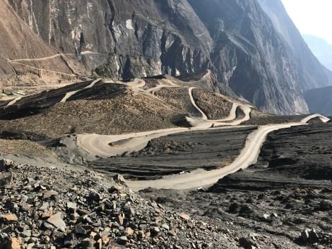 dusty road below.JPG