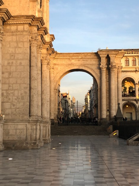 arequipa archway