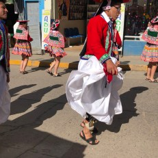 dancers men in parade