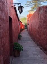 monastary passageway