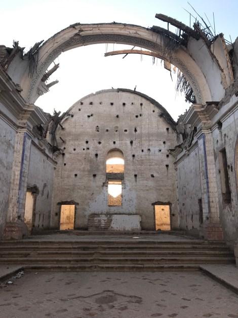 san jose abandoned church remains