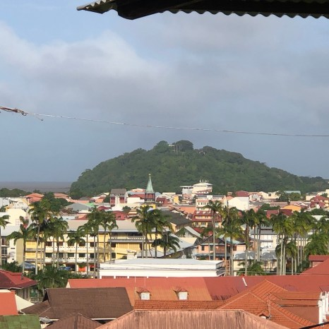 cayenne city view
