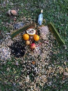 hiking found altar