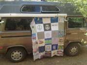 Alta modeling a quilt