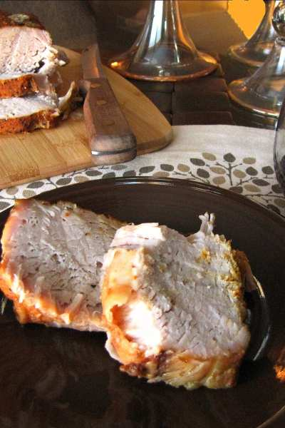 Slow Cooker Sweet and Spicy Pork Roast