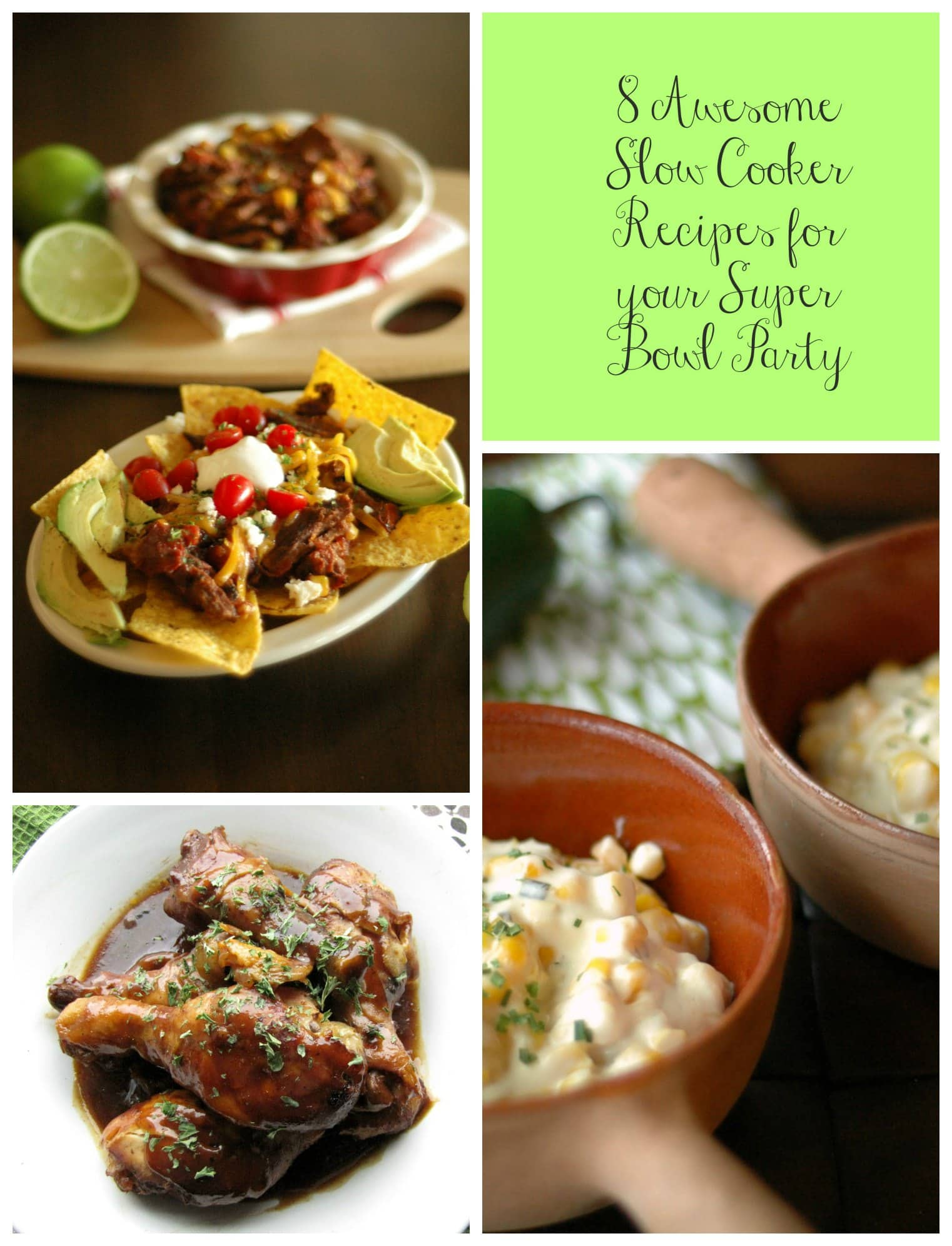 8 Awesome Slow Cooker Recipes for Your Super Bowl Party