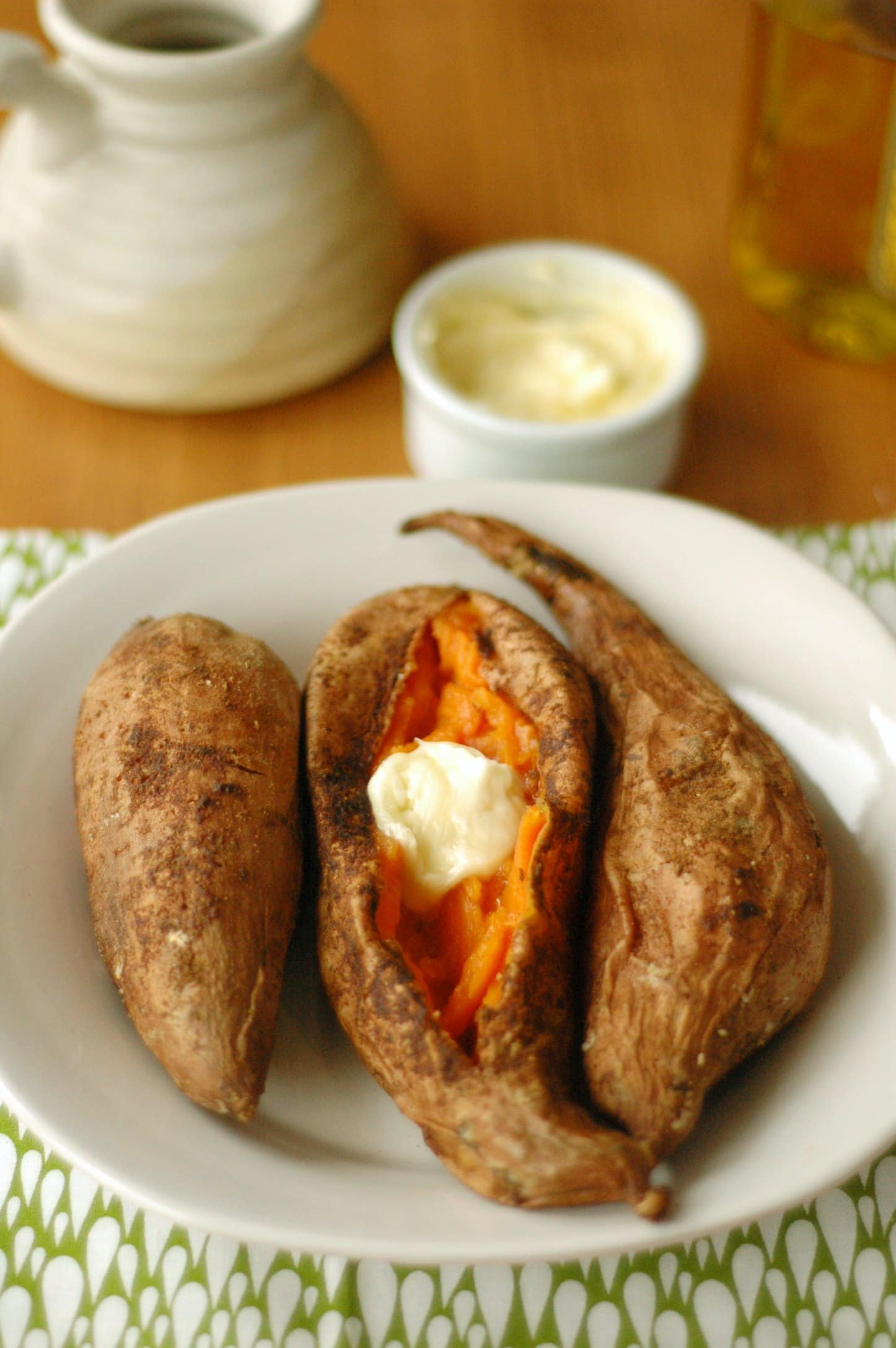 how to cook sweet potatoes in slow cooker