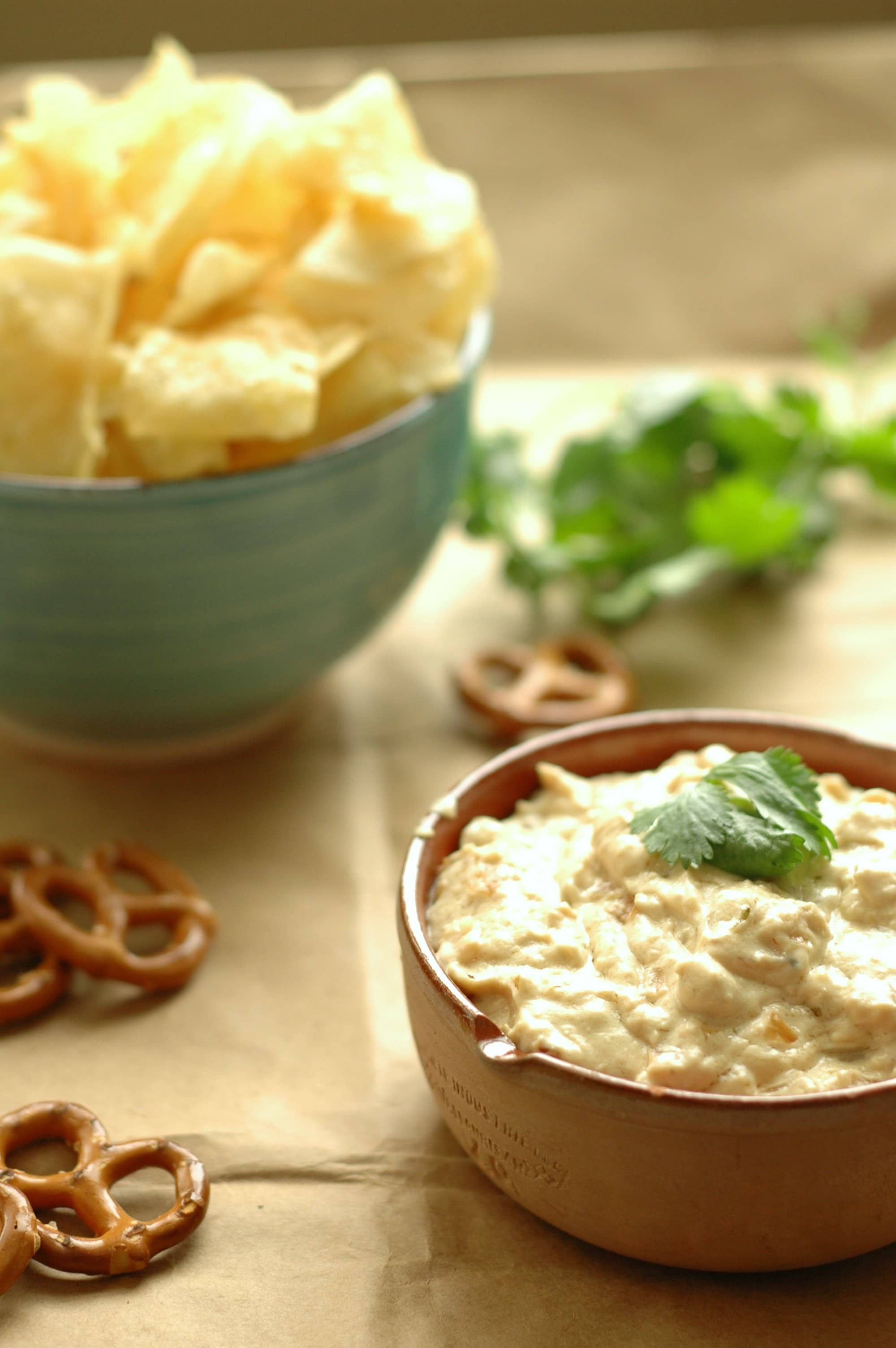 Slow Cooker Asiago Beer Dip