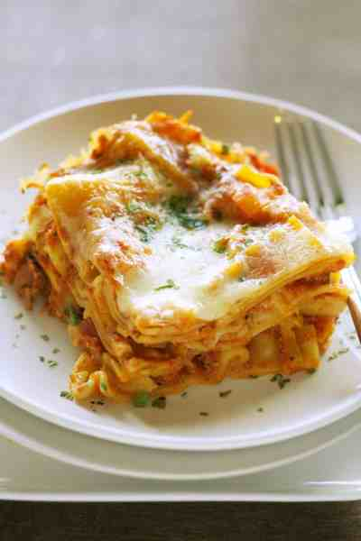Freezer Meal:  Slow Cooker Veggie Lasagna
