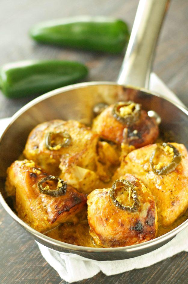Slow Cooker Honey Jack Jalapeno Chicken