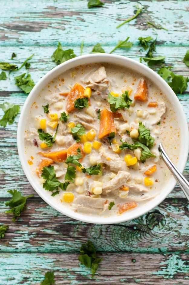 Slow Cooker Sweet Potato Chowder