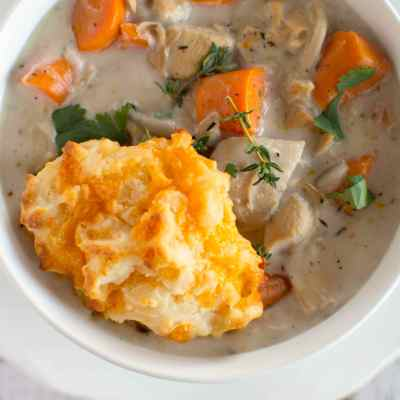 Slow Cooker Turkey Pot Pie