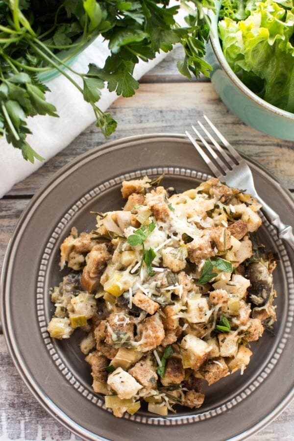 Slow Cooker Fresh Herb Chicken Casserole