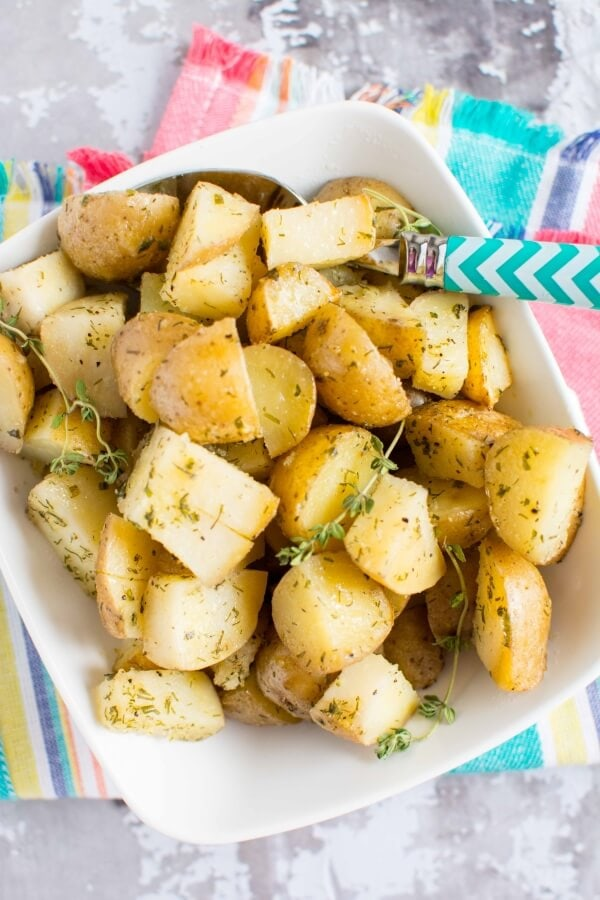 Slow Cooker Ranch Potatoes