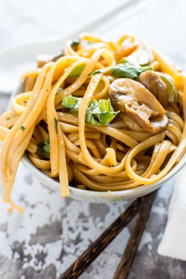 Sweet and Spicy Asian Noodles-6