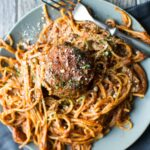 Slow Cooker One-Pot Spaghetti & Meatballs
