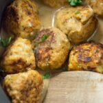 Slow Cooker Spicy Beer Can Chicken Meatballs