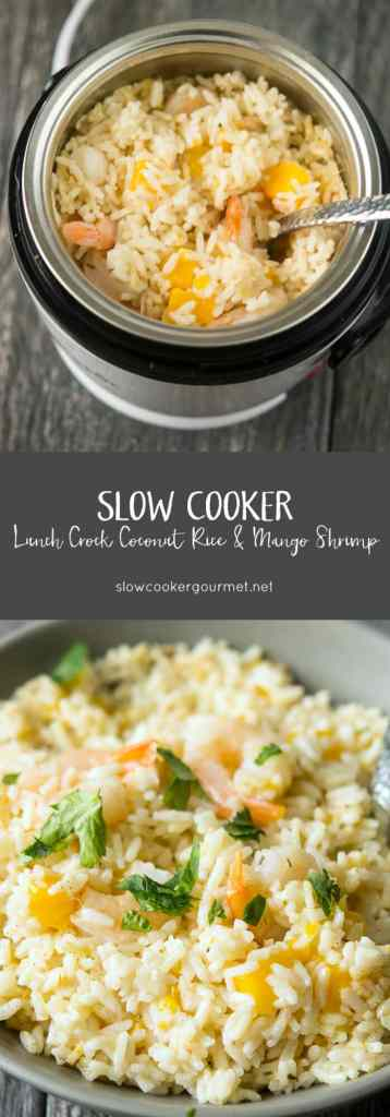 Slow Cooker Lunch Crock Coconut Rice &