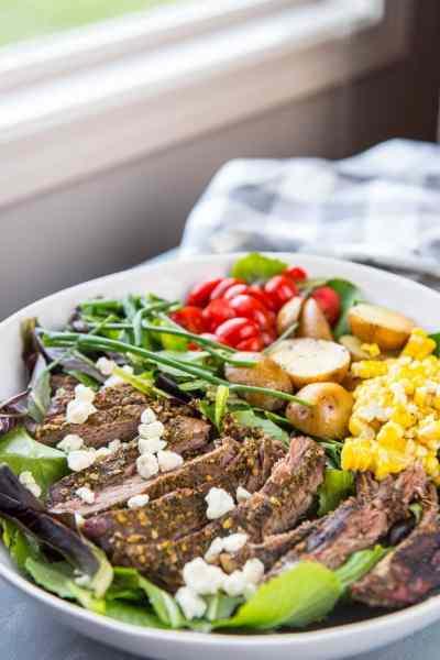 Slow Cooker Hearty Steak Salad