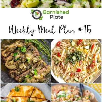 My Weekly Slow Cooker Meal Plans