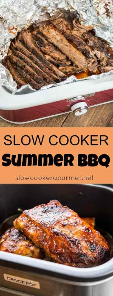 Slow Cooker Summer BBQ