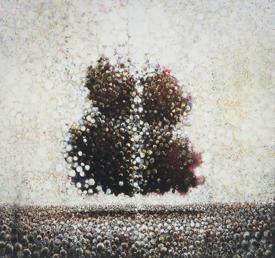 """""""Rapt"""" by Randall Stoltzfus, 2004, oil on linen, 54 by 58 inches"""