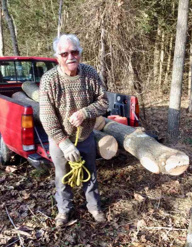 Omar Stoltzfus tree farmer