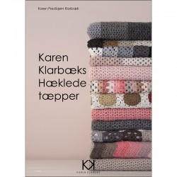 Karen Klarbæk Hækede tæpper hækleopskrift økologisk garn bomuldsgarn
