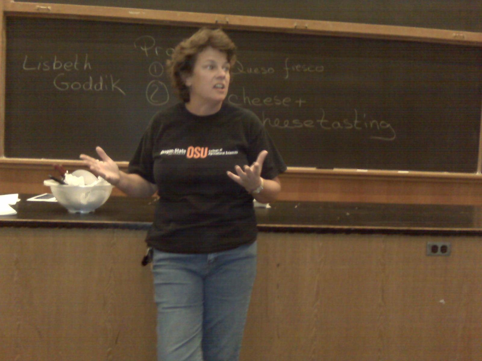Oregon State University's Dr. Lisbeth Goddik-Meunier taught the seminar.