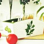 Decoupage krok po kroku – ziołowe pudełko