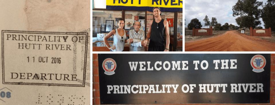 photos principauté de Hutt River Australie