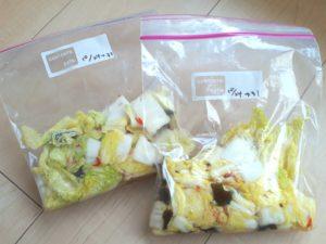 乳酸を140倍にまで増やす白菜のマリネ