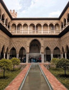 main patio moorish style