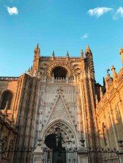 Seville catedral main entrance