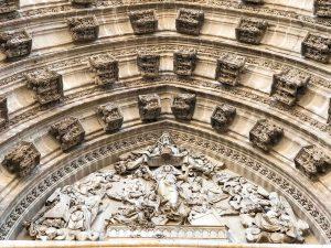 Seville gothic details