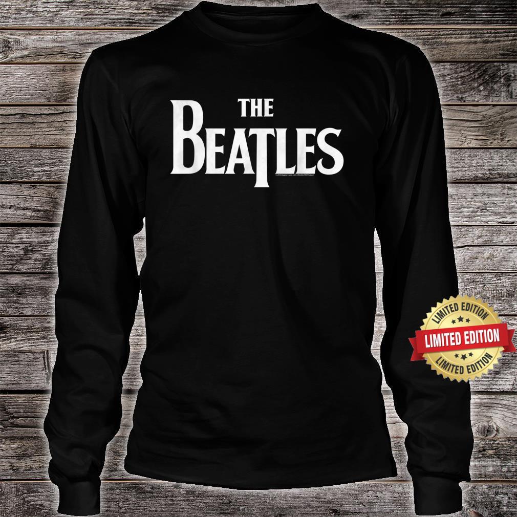 The Beatles Logo Shirt long sleeved
