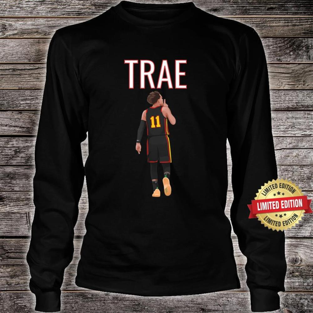 Trae Young Shhh Quiet Shirt long sleeved
