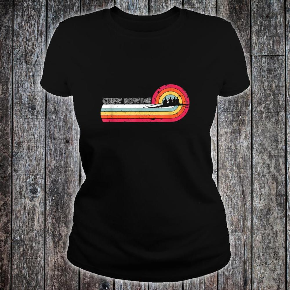 Vintage Crew Rowing For Sport Game Player Shirt ladies tee