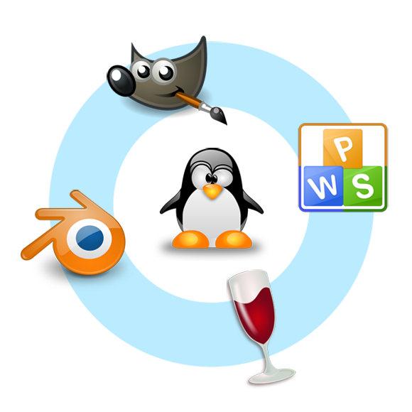 이 외에도 다양한 소프트웨어를 리눅스에서 이용할 수 있다.
