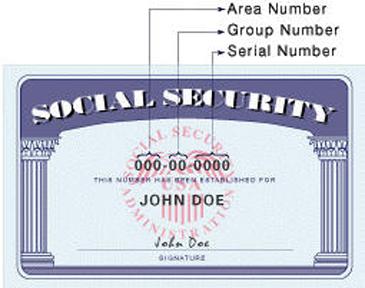 미국의 사회보장카드와 번호의 의미