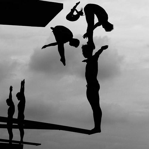 아담 프리티(Adam Pretty) 작. 중국에서 열린 제14회 세계 수영선수권 대회