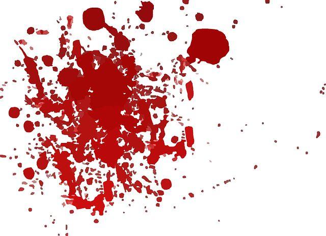 피 얼룩 살인 잔인 잔혹