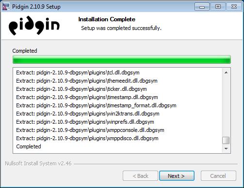보안 메신저 OTR + Pidgin #9