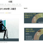주간 뉴스 큐레이션: 대한민국 검찰 못 믿겠다