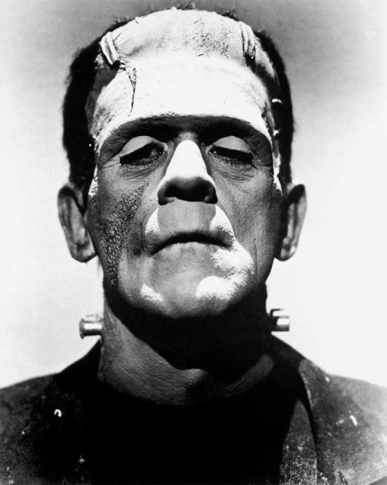 1931년 영화 [프랑켄슈타인]의 괴물 (보리스 칼로프 분)
