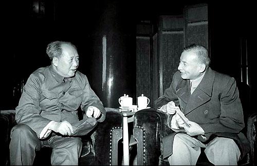 천윈과 덩샤오핑(1966년)
