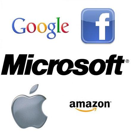 구글 페이스북 아마존 애플 MS 마소