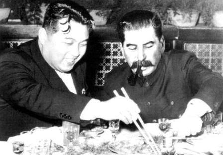 김일성과 스탈린